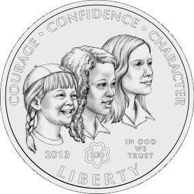 Front of the commemorative coin.